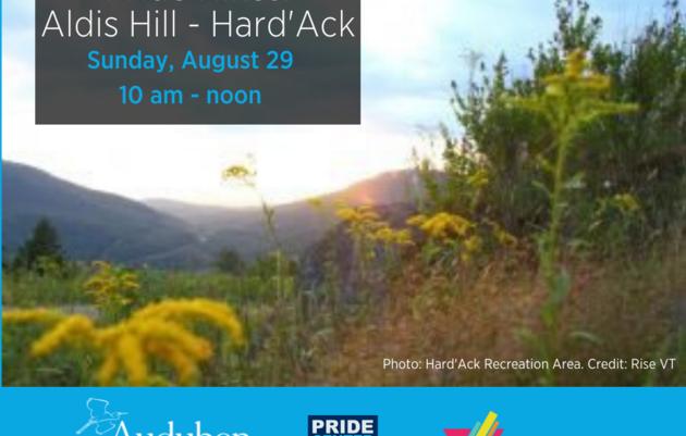 Pride Hikes: Aldis Hill - Hard'ack Recreation Area