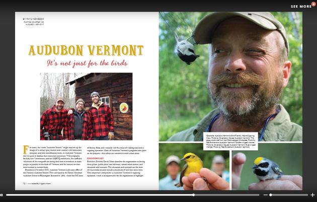 Audubon Vermont: It's Not Just for the Birds