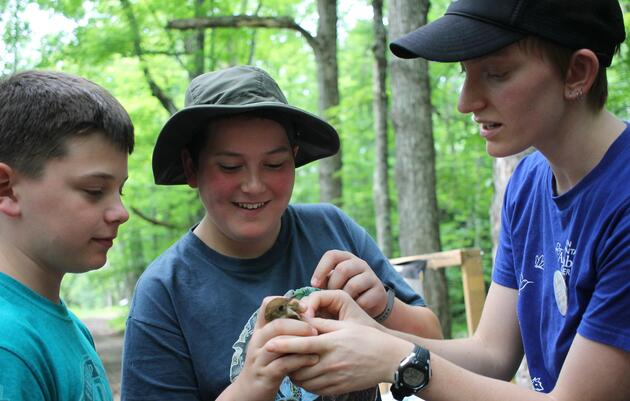 Youth Conservation Interns