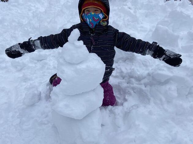 Tracking in this Winter Wonderland!