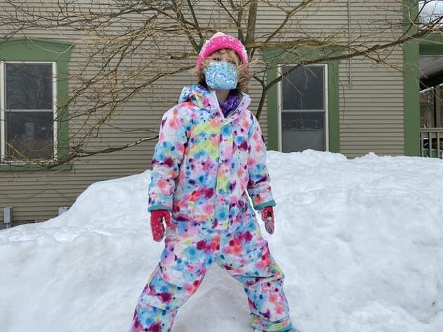 Fun in the Snowy Sun!