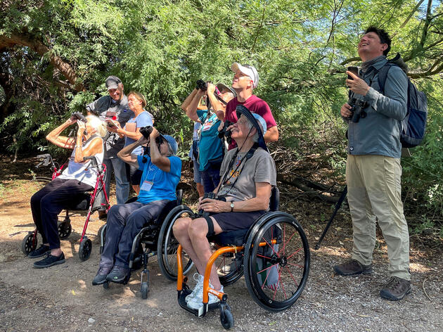 Birdability Week 2021 Celebrates Birders with Disabilities and Other Health Concerns