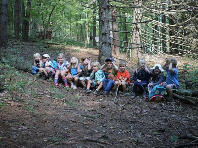 First Day of Forest Playschool Fall 2018