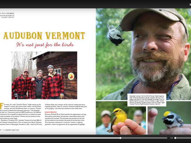 Audubon Vermont: It's Not Just for the Birds