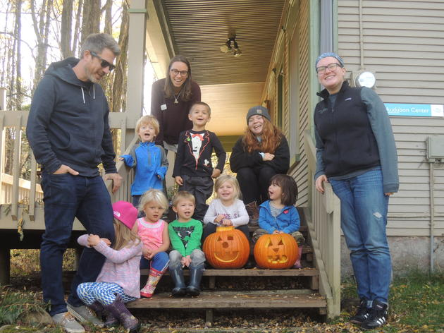 Forest Preschool and The Great Pumpkin