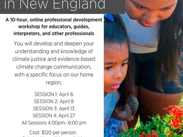 How to Talk about Climate Change and Climate Justice in New England