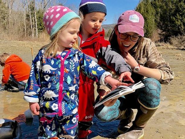 School Programs with Audubon Vermont