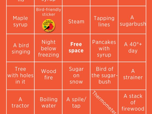 Maple Bingo