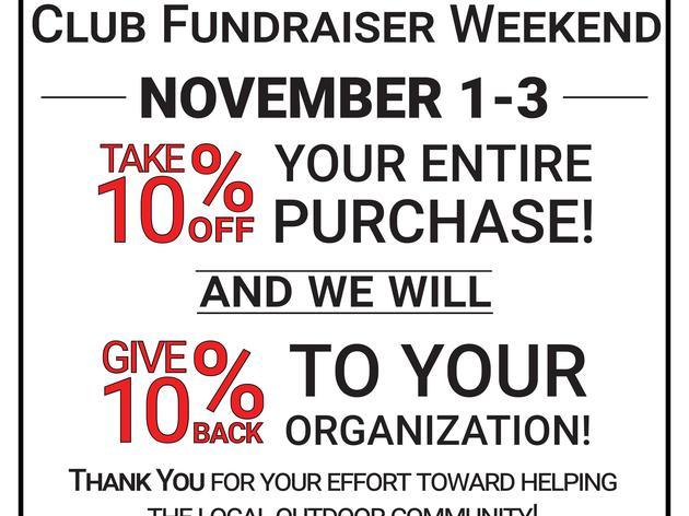 OGE Club Fundraiser Weekend