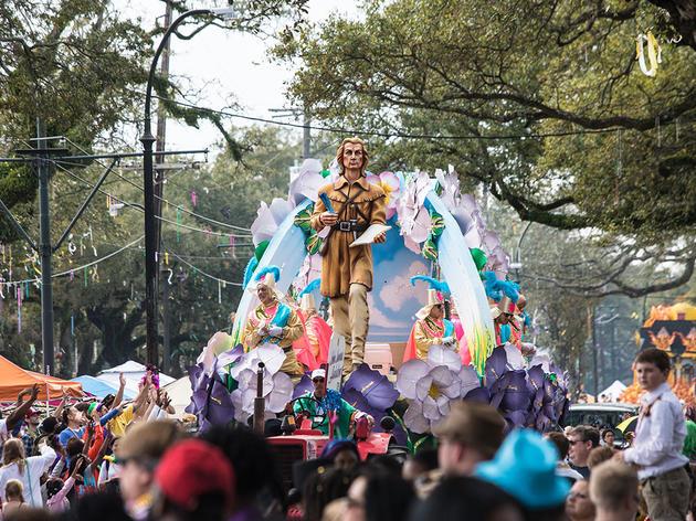 John James Audubon Made a Mardi Gras Appearance