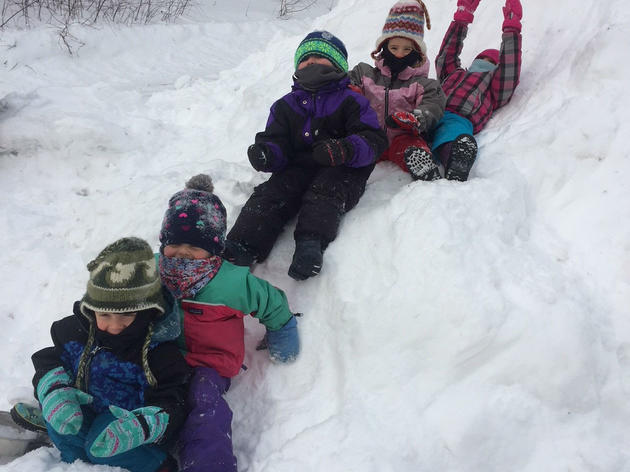 Sleds and More Snow