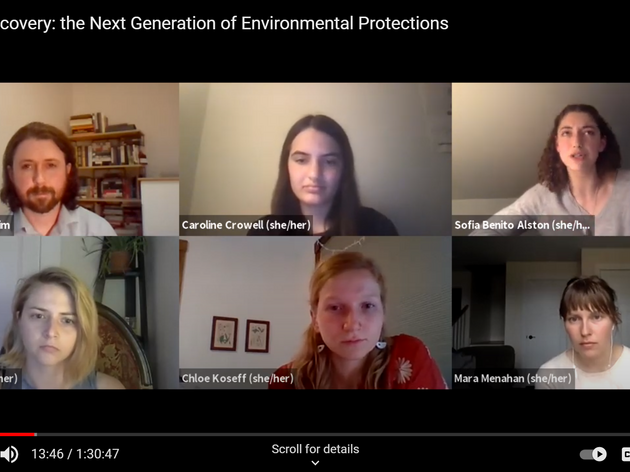 Tough Conversations: Rollback Recovery: the Next Generation of Environmental Protections