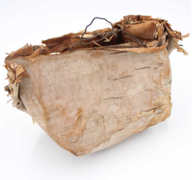 Birch Bark Sap Bucket
