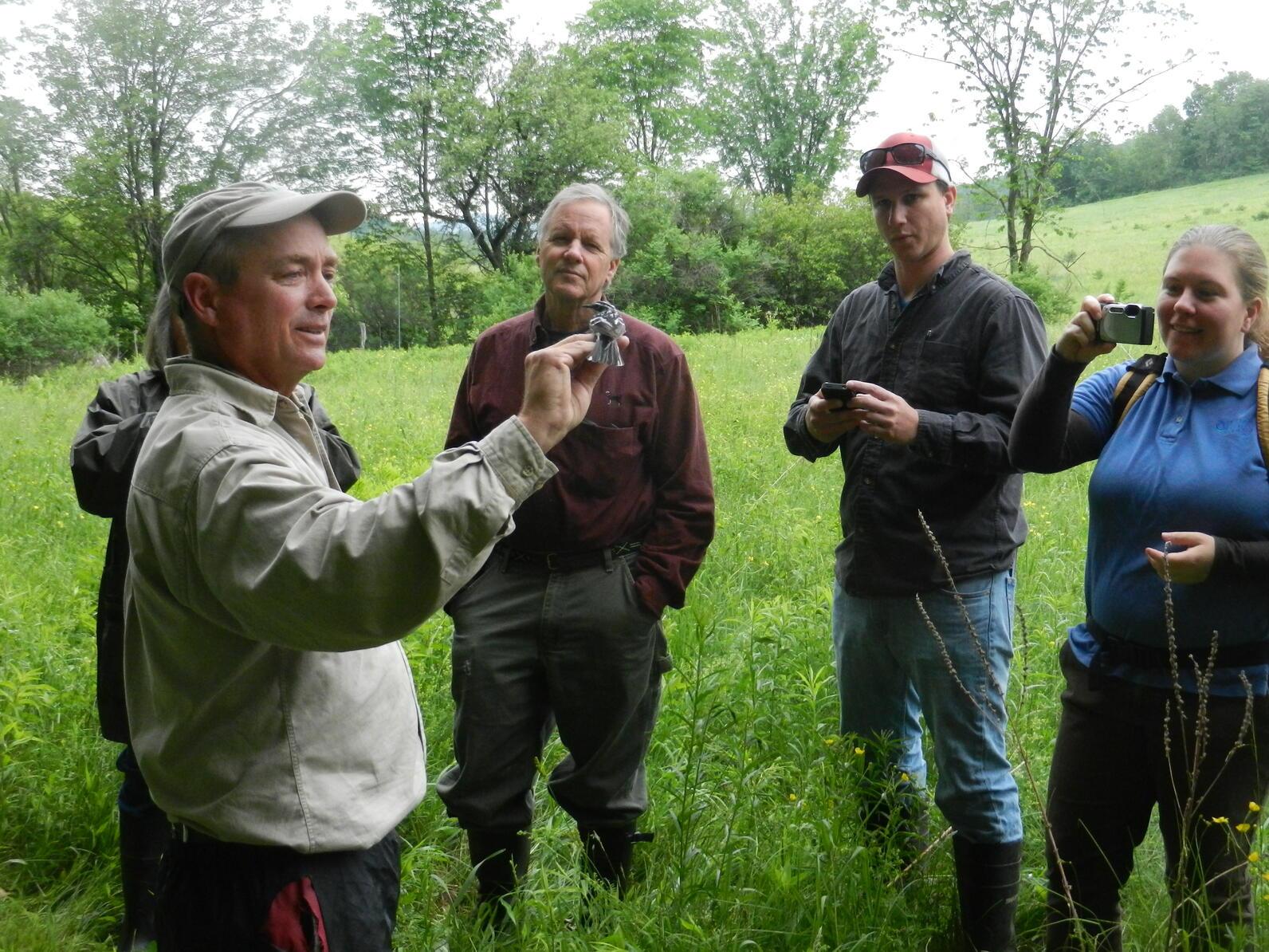 Champlain Valley Bird Initiative training