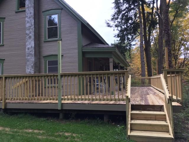 deck repaired