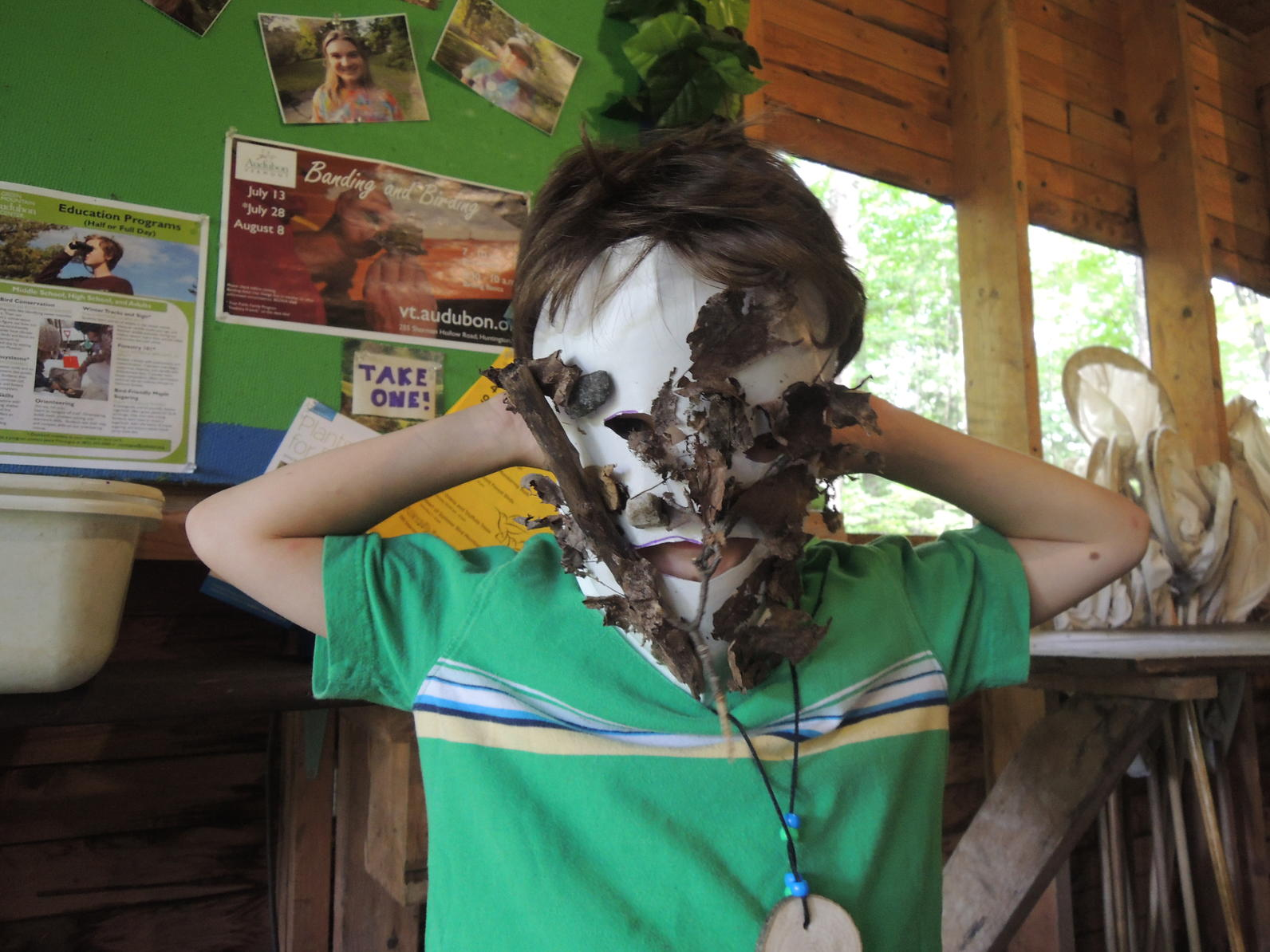 More camo masks