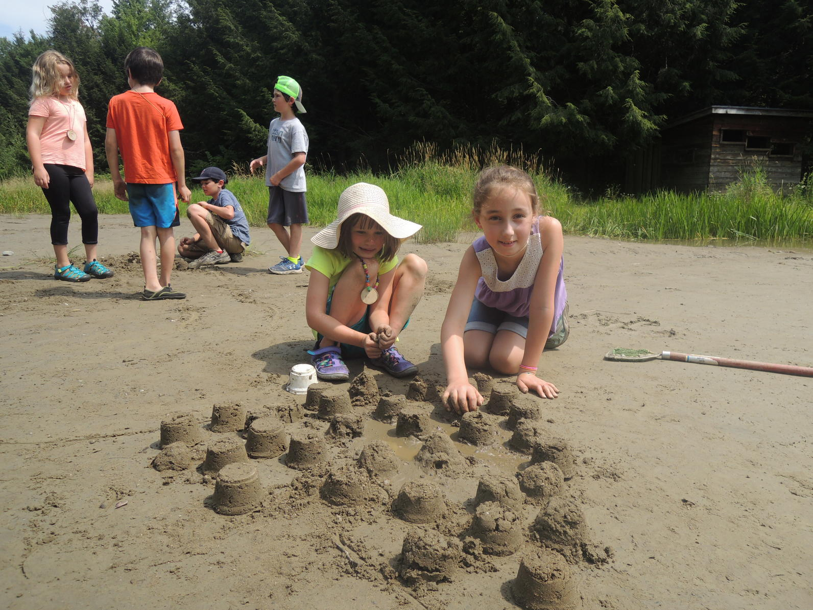 Beaver pond camp