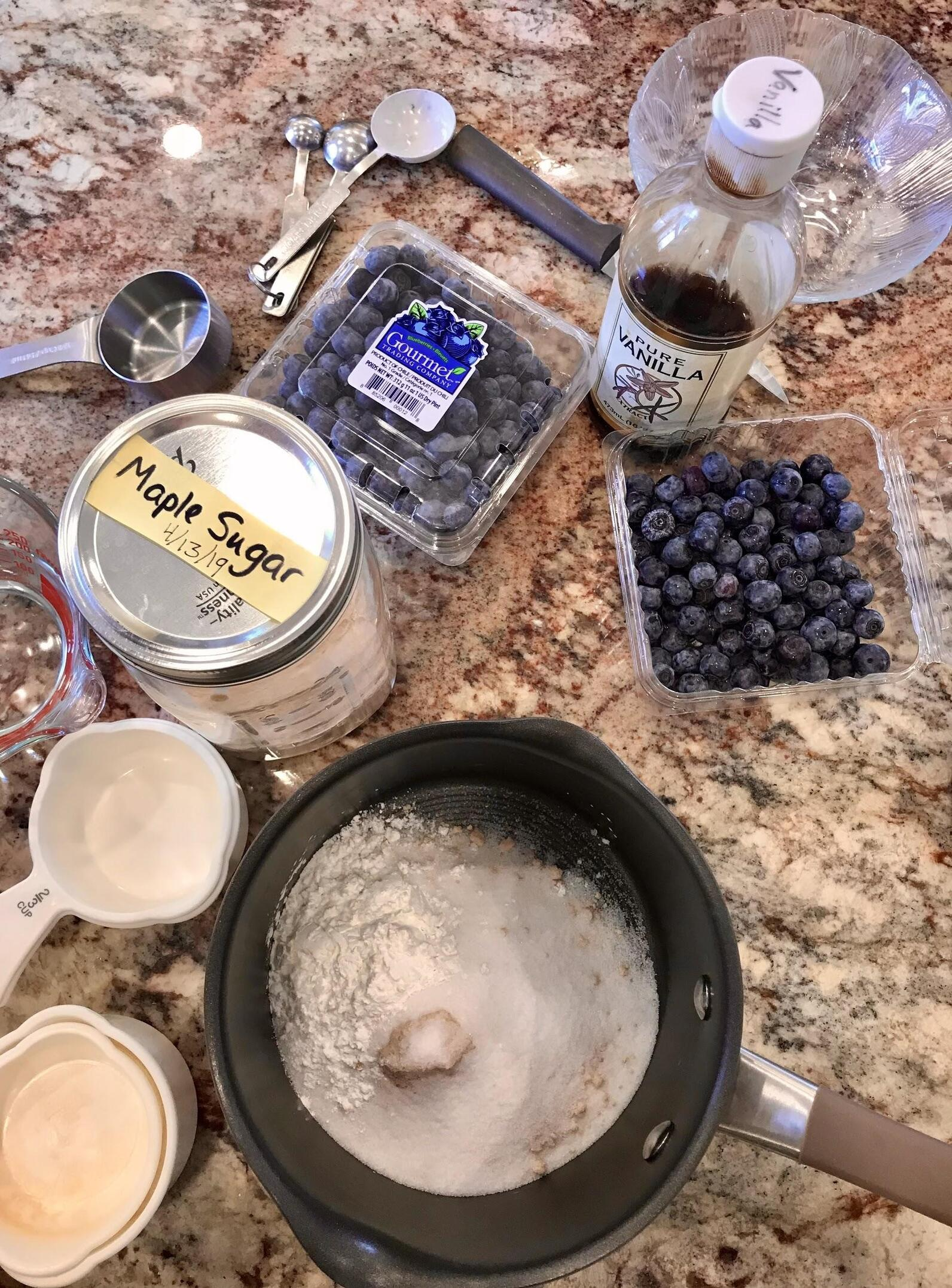 Maple french toast ingredients