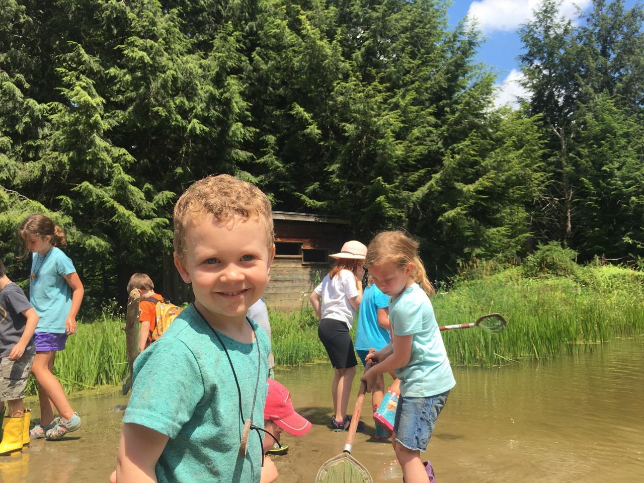 Beaver Pond Pre-K Camp