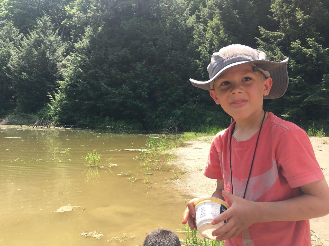 Pond Pre-K Camp