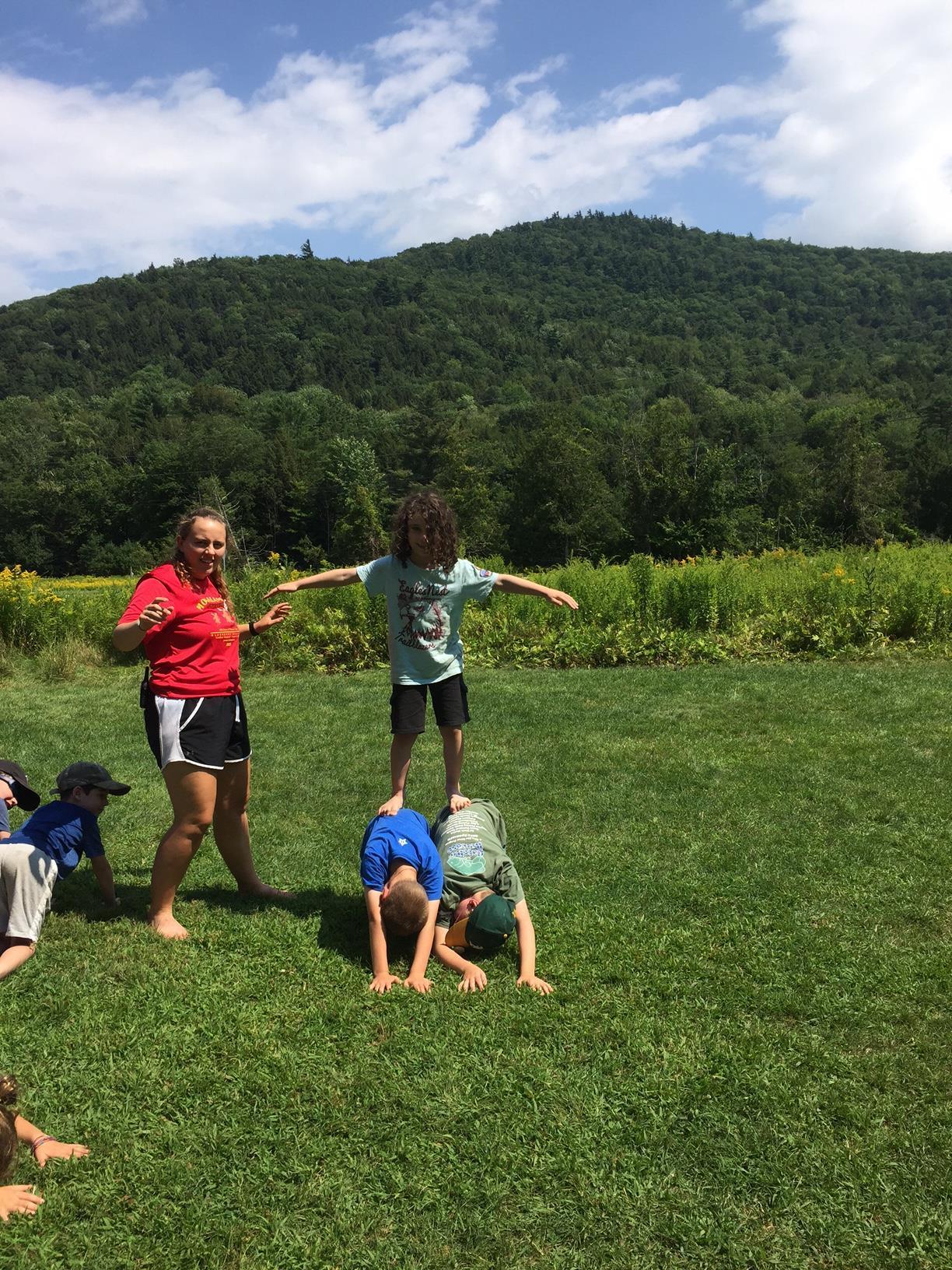More nature yoga camp