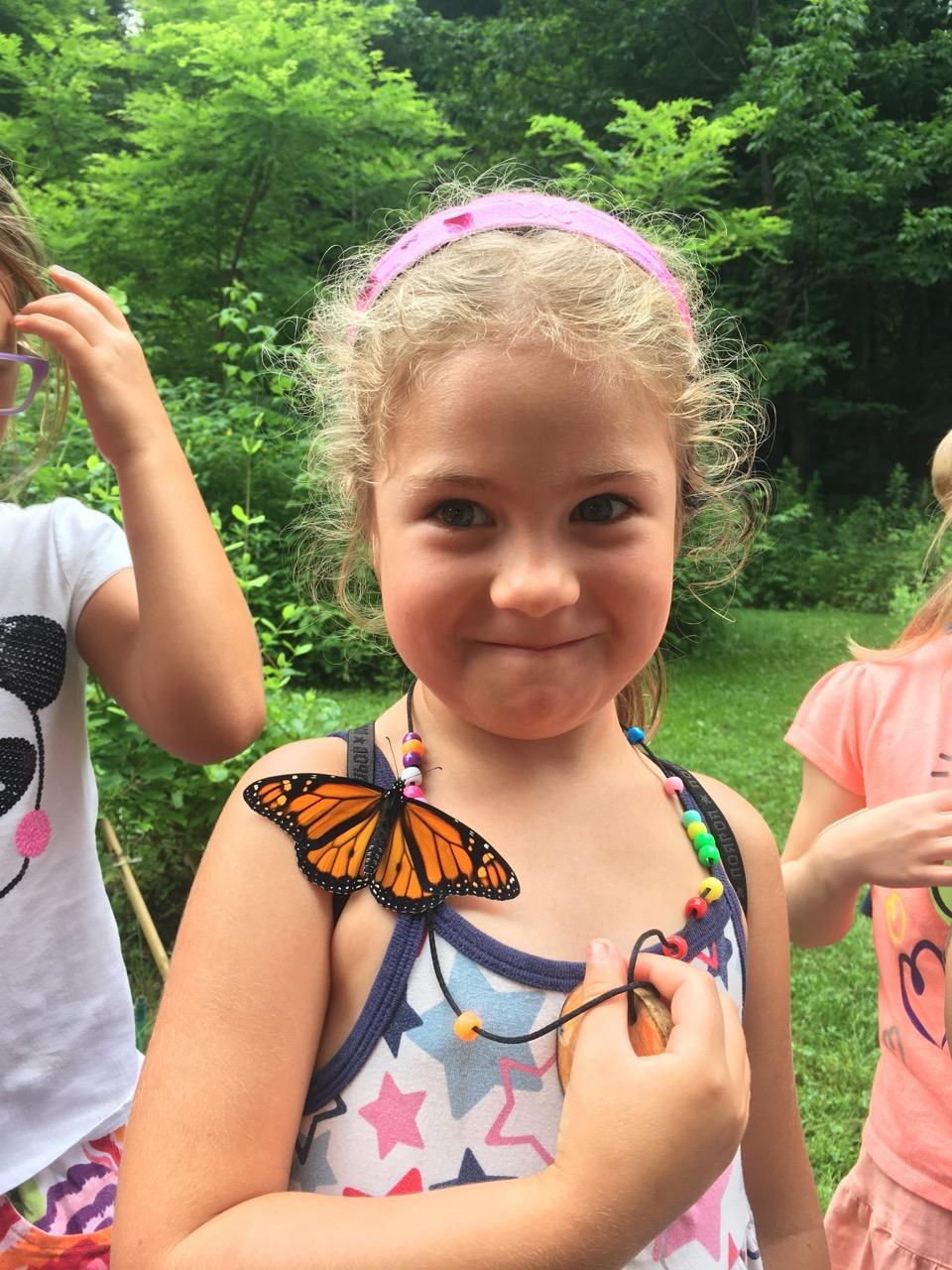 Butterfly at pre-k Camp