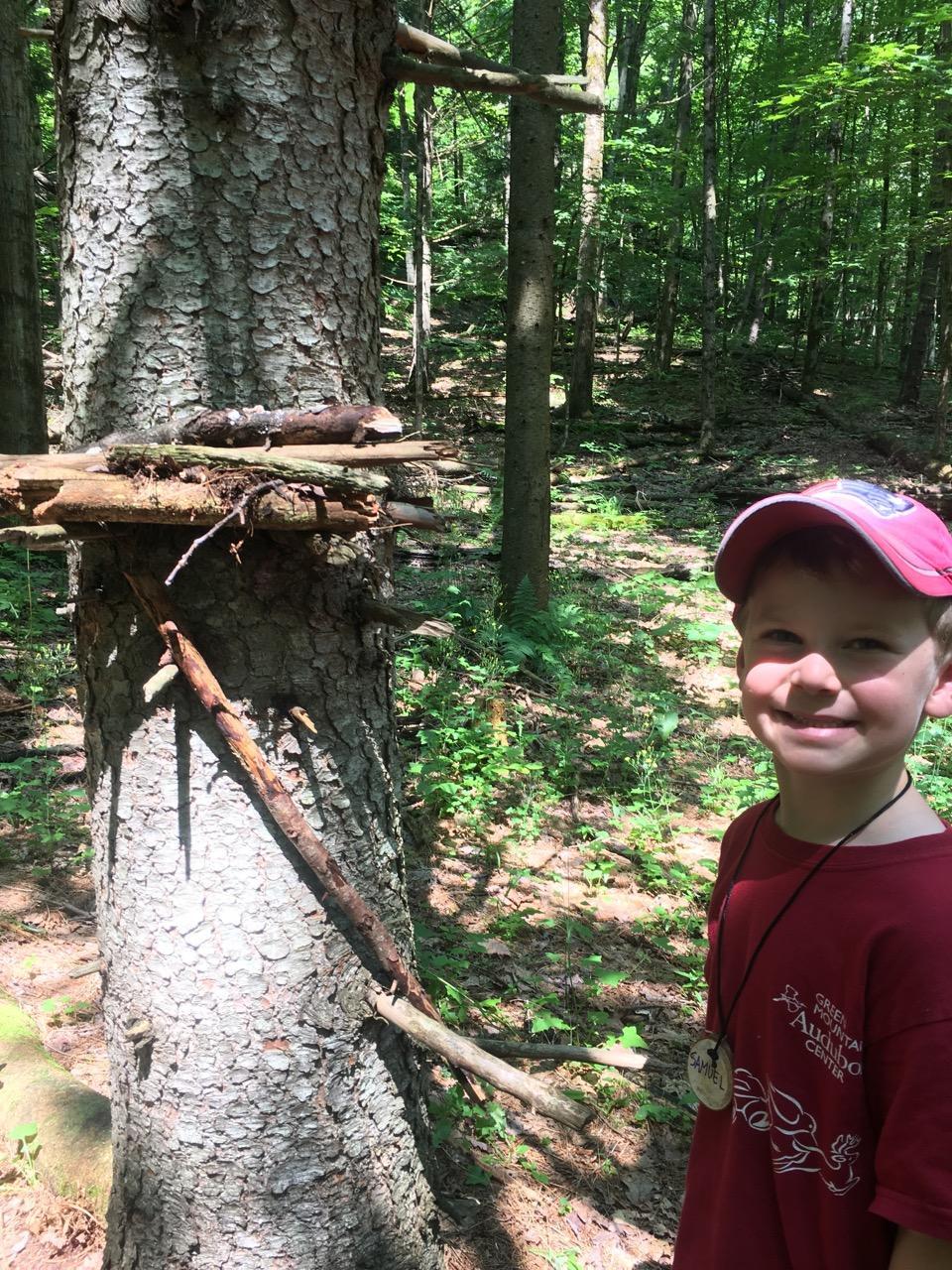 Woods pre-k camp