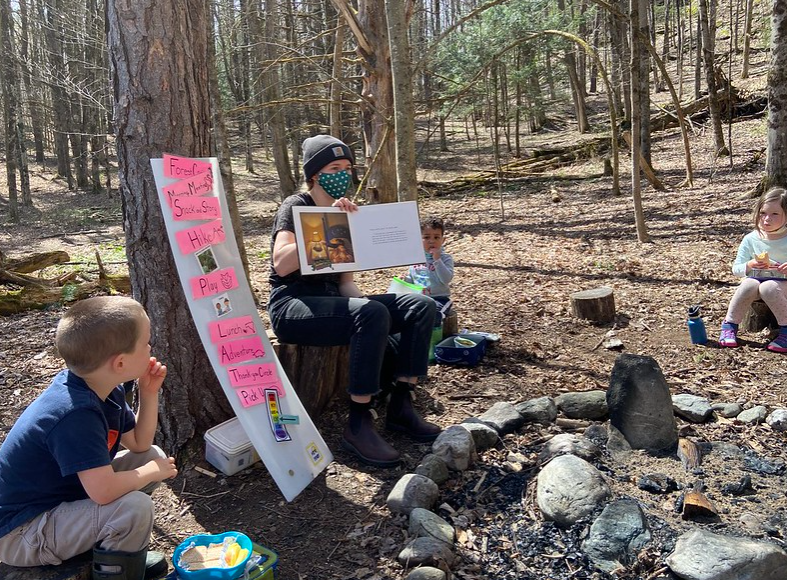 Lunch and storytime