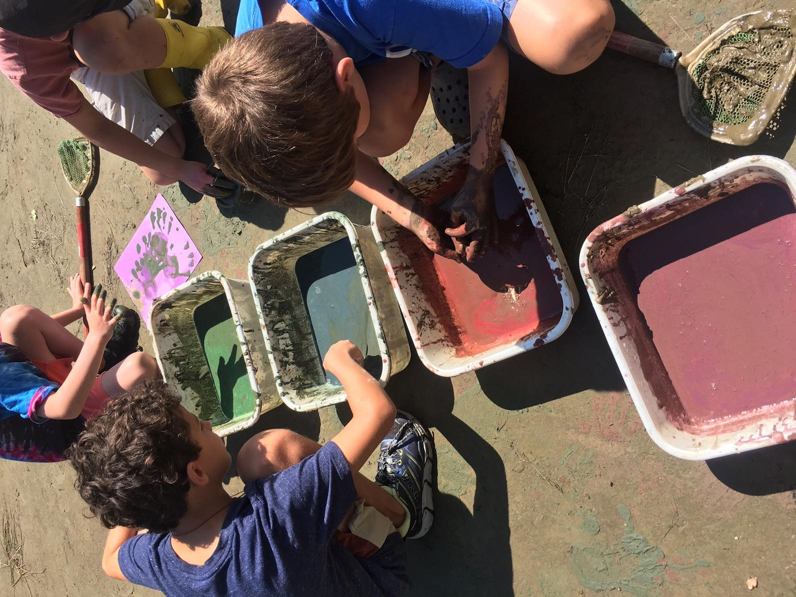 Mud paint camp
