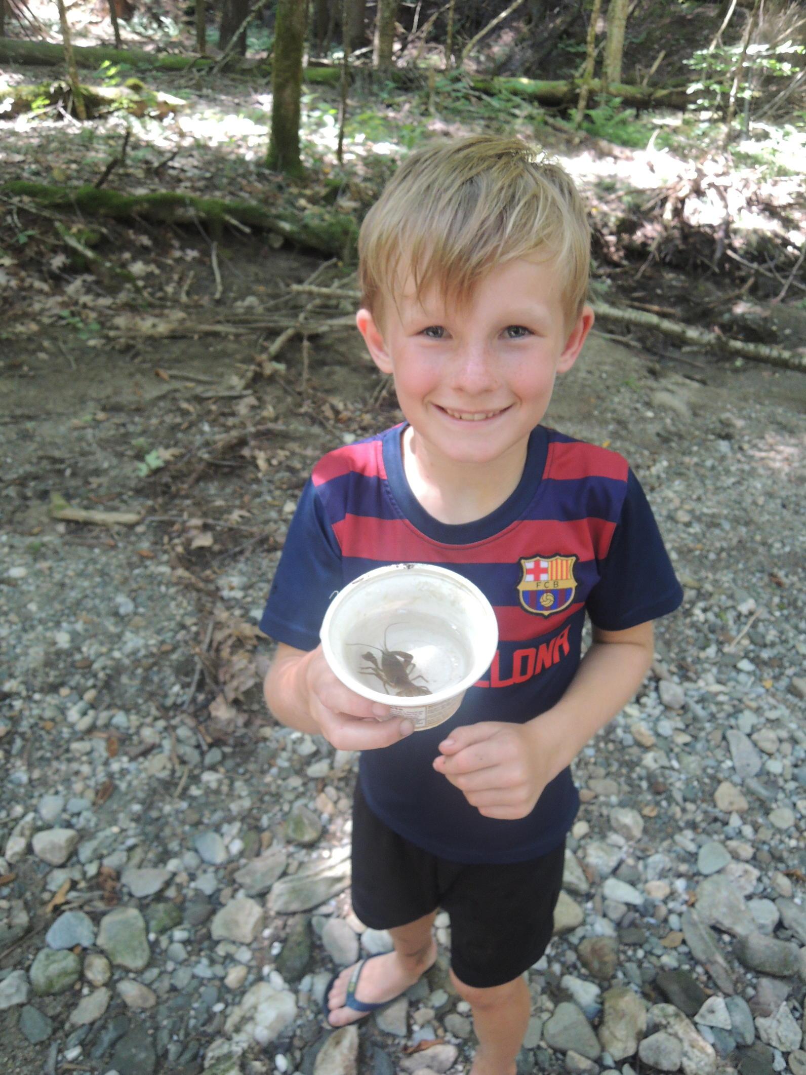 crayfish ecology camp