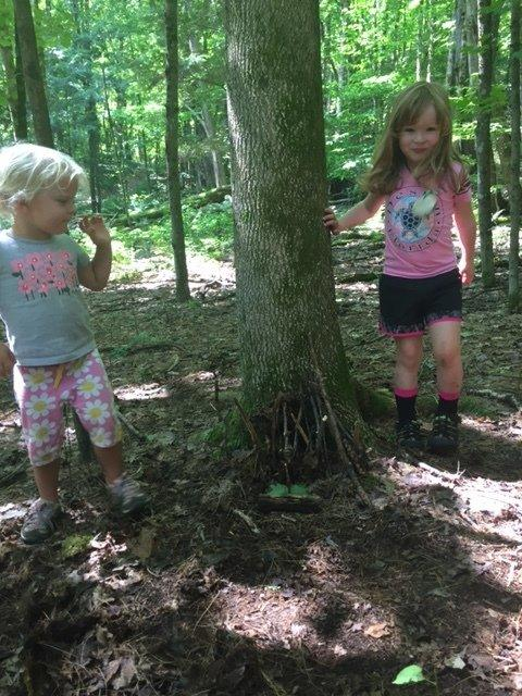 fairy houses pre-k camp