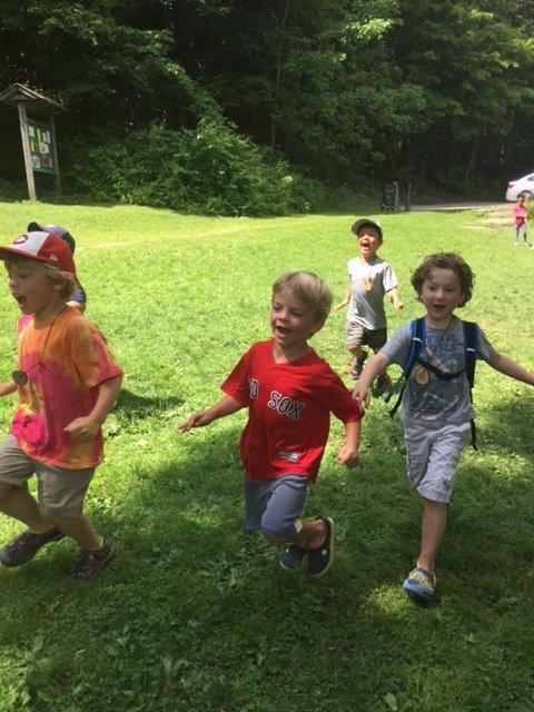 Running Pre-K camp