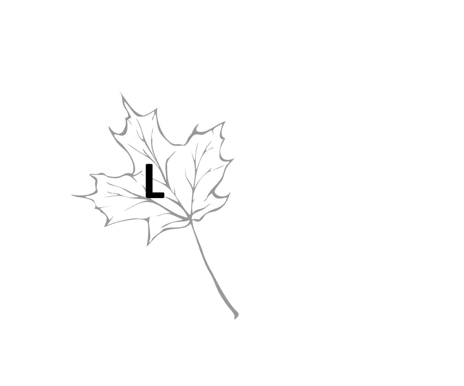 "Sugarbush Birds Scavenger Hunt, the letter ""L"""