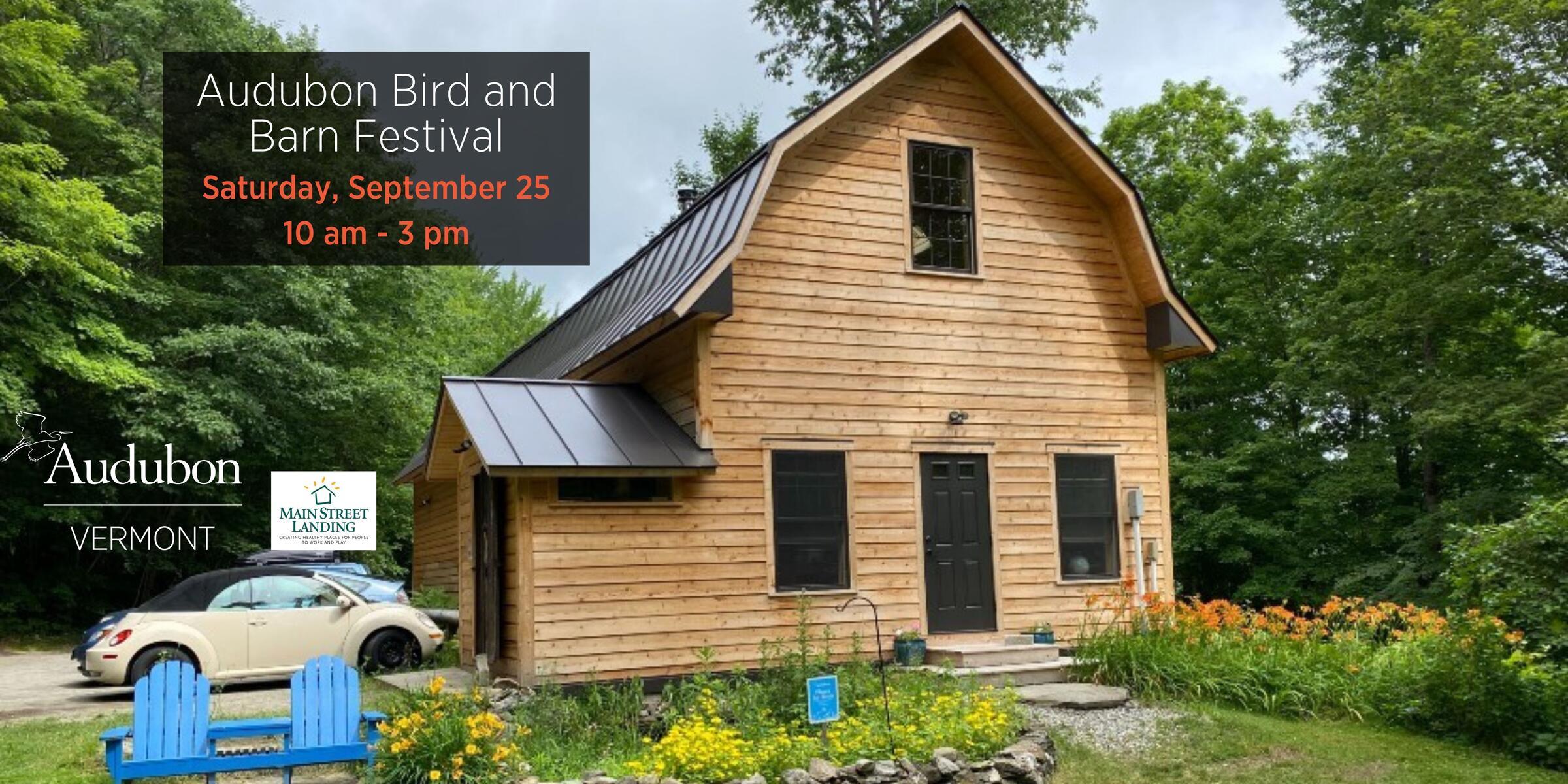 Audubon Vermont's Education Barn