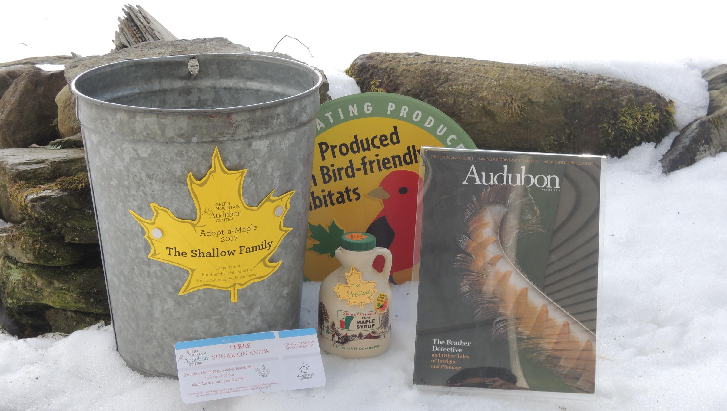Audubon Vermont Adopt-a-Maple