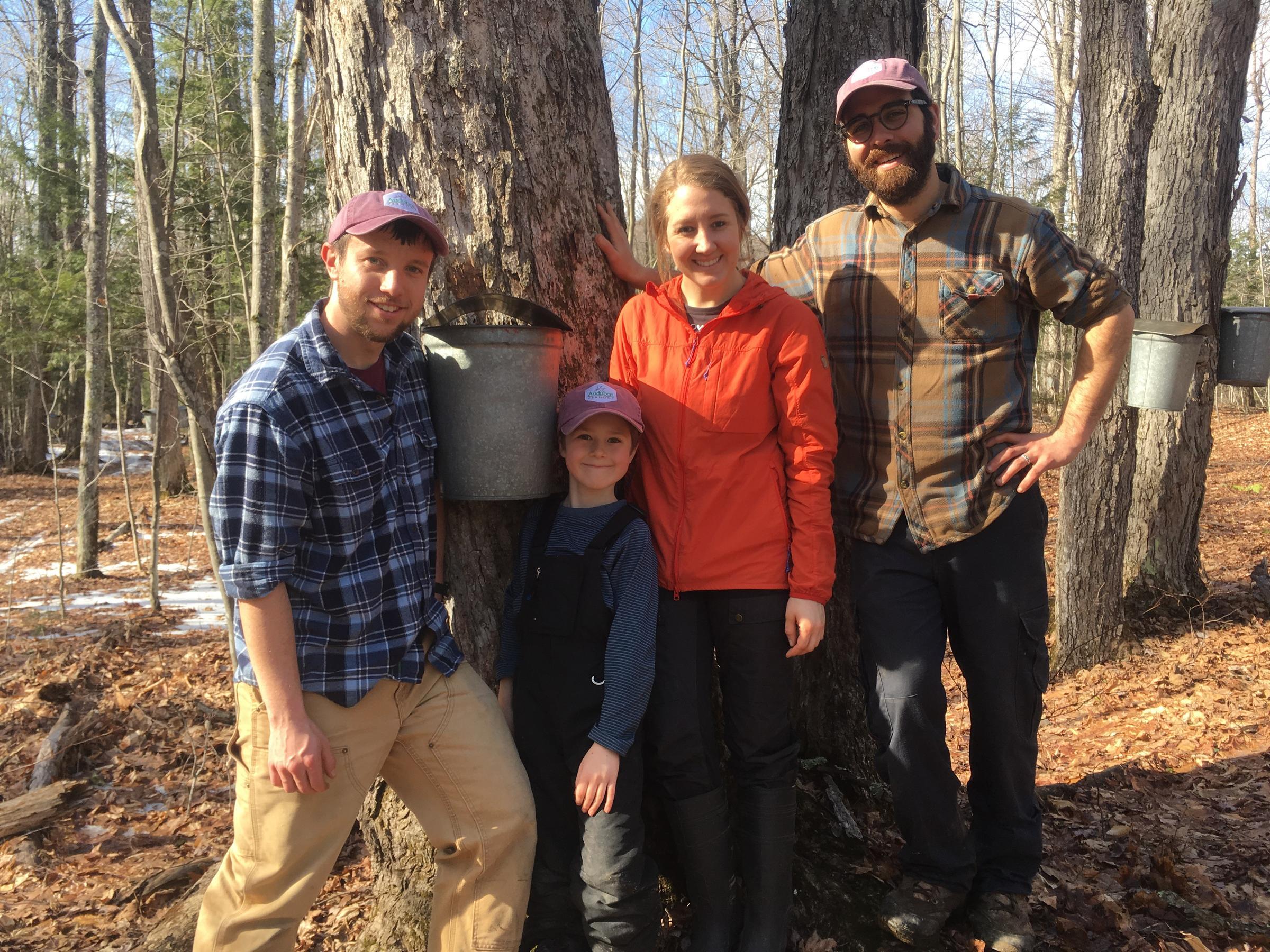 Audubon Vermont Sugaring Team 2017